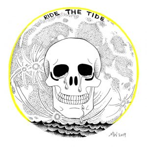Ride the Tide Digital Fine Art Print