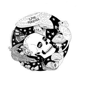 Live Forever Digital Fine Art Print