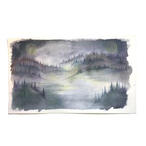 Winter Forest Moons 2021 Original