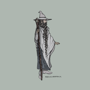 Gandalf Digital Fine Art Prints