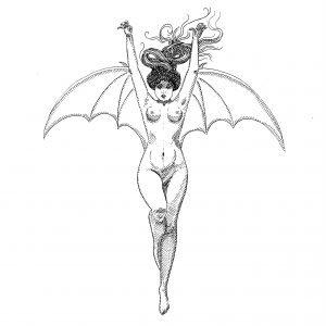 The Bat Woman Study Original