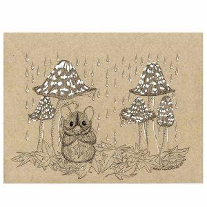Little Leaf Original Illustration